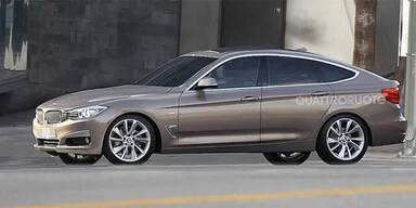 Erwischt: So kommt der neue BMW 3er GT