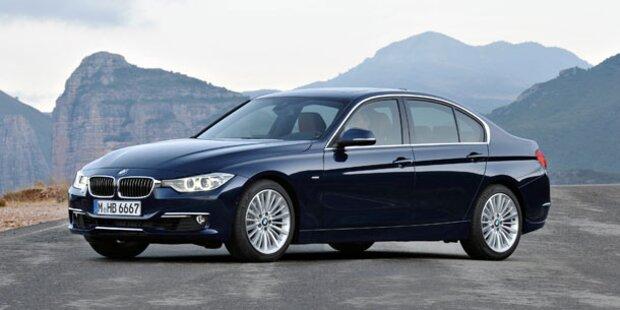 3er BMW: Allrad und neue Einstiegsmotoren