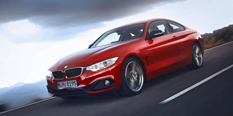 BMW 4er Coupé mit neuem Einstiegsdiesel