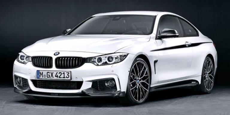 BMW verpasst dem 4er Coupé ein M-Paket