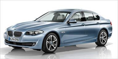 Jetzt kommt der 5er BMW mit Hybrid-Antrieb