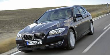 BMW verpasst auch dem 5er neue Motoren