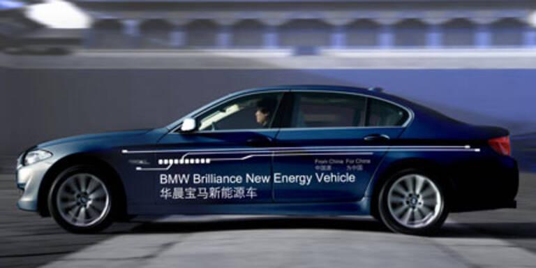 Langer 5er BMW als Plug-in-Hybrid