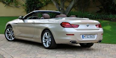 Weltpremiere des neuen BMW 6er Cabrio