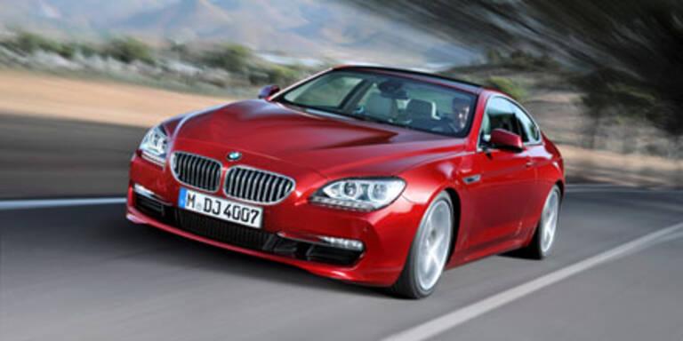 Weltpremiere des neuen BMW 6er Coupé