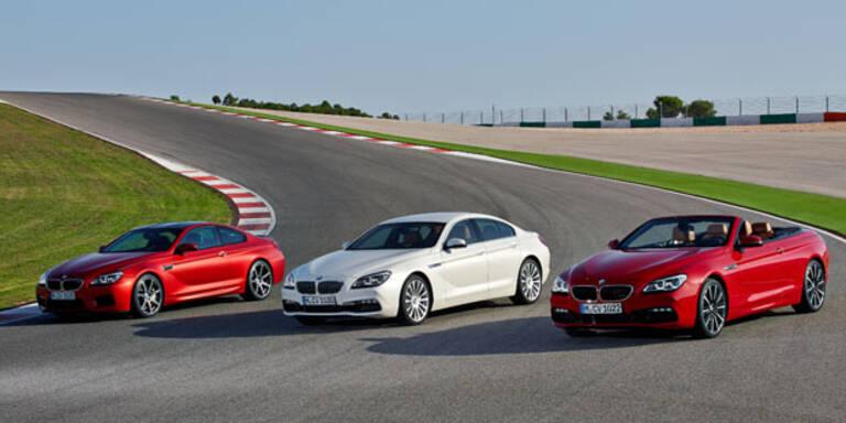 BMW frischt die 6er-Reihe auf