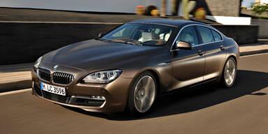 Weltpremiere des BMW 6er Gran Coupé