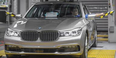 Neuer BMW 7er läuft vom Band