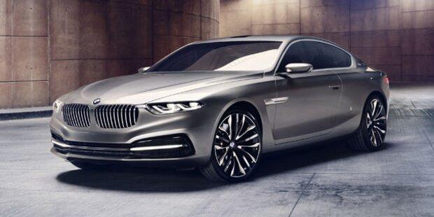 Pininfarina baut ein BMW 7er Coupé