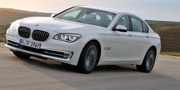 BMW verpasst dem 7er ein Facelift