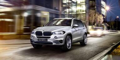 So kommt der BMW X5 Plug-in-Hybrid