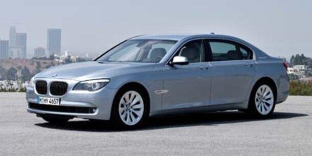 BMW-Flaggschiff mit Hybridantrieb