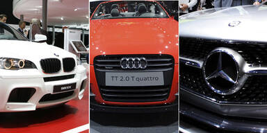 Mercedes, BMW und Audi auf Rekordjagd