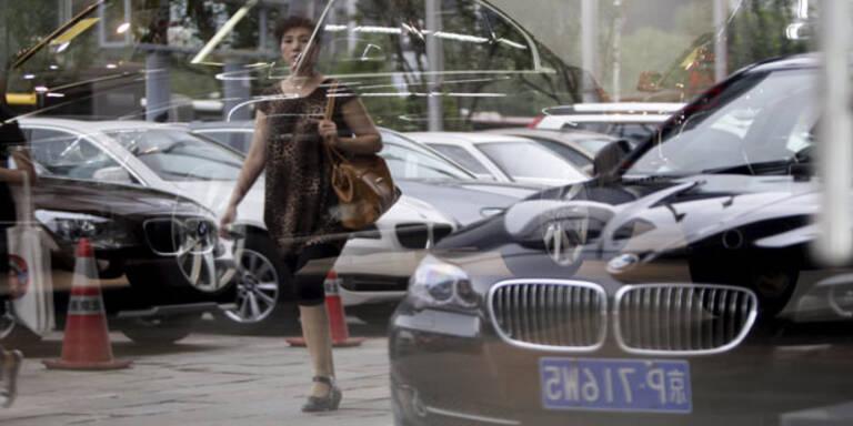 Chinas Automarkt bricht weiter ein