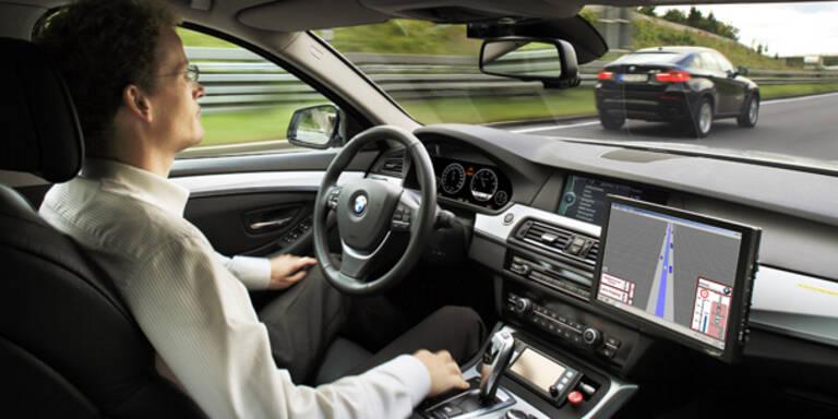 Grünes Licht für selbstfahrende Autos
