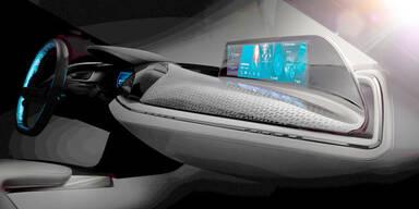 BMW zeigt neues Hightech-Cockpit