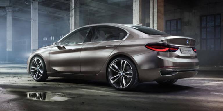 BMW Sportlimousine auf 1er-Basis