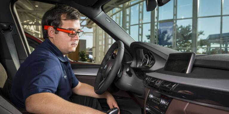"""BMW testet Google-Brille """"Glass"""""""