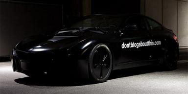 BMW i-XXX: Fotos und Videos vom Erlkönig