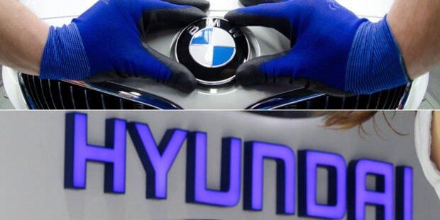 BMW spricht mit Hyundai über Kooperation