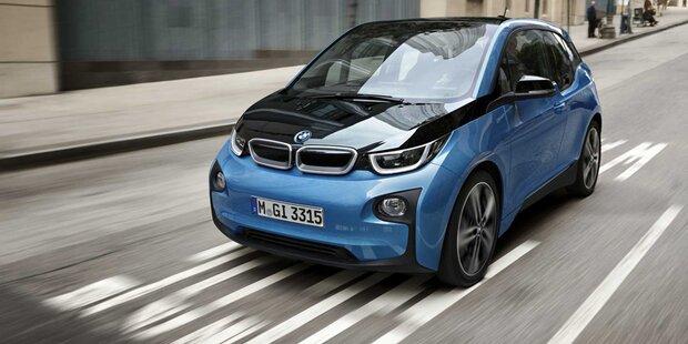 BMW i3 jetzt mit 300 km Reichweite