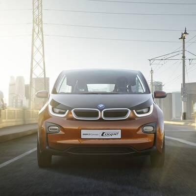 Fotos vom BMW i3 Coupé