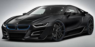 Tuner GSC motzt den BMW i8 auf