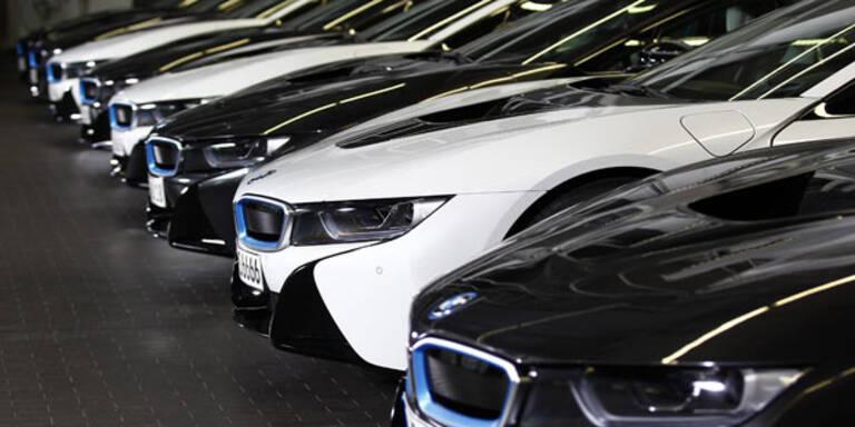 Autohersteller führen Markenranking an