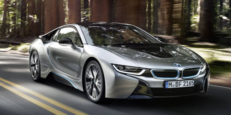 Das ist die fertige Version des BMW i8