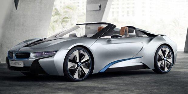 BMW stellt den i8 Concept Spyder vor