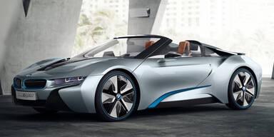 BMW i5 und i8 Spyder kommen