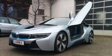 Hybrid-Sportwagen BMW i8 im Test