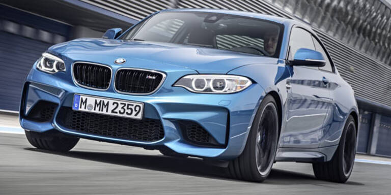 Alle Infos vom BMW M2 Coupé