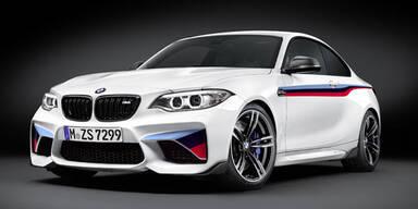 BMW schärft das M2 Coupé nach