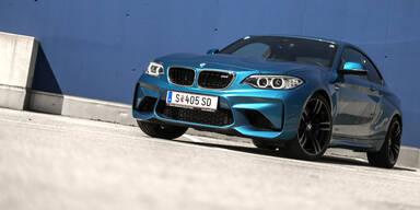 Das BMW M2 Coupé im Test