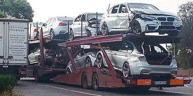 Wer hat diese neuen BMW M3 gecrasht?