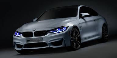 """BMW M4 Coupé mit Laser-""""Augen"""""""