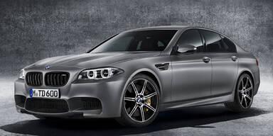 BMW M5: Sondermodell mit 600 PS zum 30er