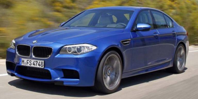 Der BMW M5 kommt auch als Diesel