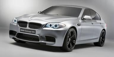 Weltpremiere des BMW Concept M5