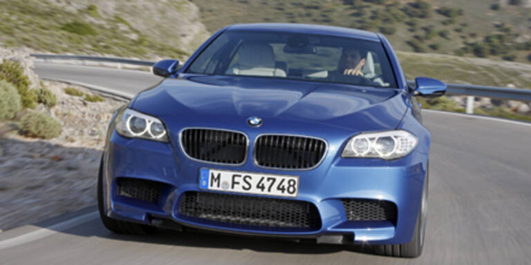 Alle Bilder und Daten vom neuen BMW M5