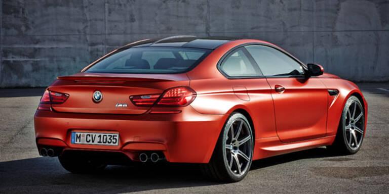 BMW frischt die M6-Reihe auf