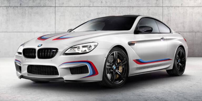 BMW stellt M6 Coupé mit 600 PS vor