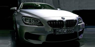 Fotos vom BMW M6 Gran Coupé aufgetaucht