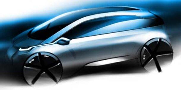 BMW zeigt Einblicke ins Megacity Vehicle