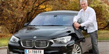 Fußballlegende testet den BMW 5er GT