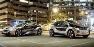BMW zeigt seine E-Autos i3 und i8