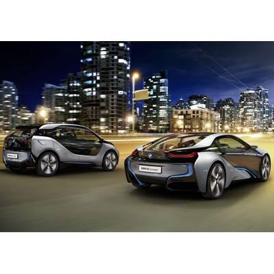 Fotos vom BMW i3 und i8 Concept