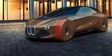 BMW tüftelt an selbstfahrendem Auto