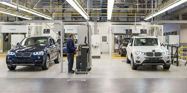 Größtes BMW-Werk nun in den USA